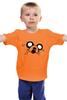 """Детская футболка классическая унисекс """"Finn & Jake """" - adventure time, время приключений, джейк, jake"""