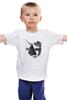 """Детская футболка классическая унисекс """"кошка"""" - кот, кошка, cat"""