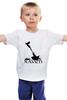 """Детская футболка классическая унисекс """"Raven Brand"""" - ворон, raven, raven brand, бренд ворон"""