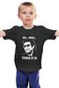 """Детская футболка классическая унисекс """"Ян Малкольм (Парк Юрского периода)"""" - парк юрского периода, ян малкольм"""