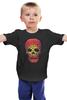 """Детская футболка """"Черепа"""" - skull, череп, кости"""