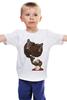 """Детская футболка классическая унисекс """"Борода"""" - необычно, борода, медведи, гнев, парням"""