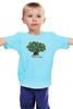 """Детская футболка классическая унисекс """"iCalistini The Happiness Tree Дерево Счастья"""" - счастье, дерево счастья, icalistini"""