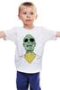 "Детская футболка ""Психоделика"" - zombie, зомби, green, shades"