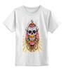 """Детская футболка классическая унисекс """"Череп"""" - авторские майки, черепа"""