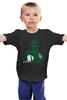 """Детская футболка классическая унисекс """"Зеленый Фонарь (Green Lantern)"""" - зеленый фонарь, green lantern"""