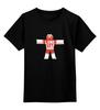 """Детская футболка классическая унисекс """"Человечек из Пива (Настоящий Детектив)"""" - настоящий детектив"""