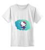 """Детская футболка классическая унисекс """"kitty"""" - hello kitty, kitty, китти, котенок"""
