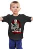 "Детская футболка классическая унисекс ""Джейсон и Фредди"" - jason, фредди крюгер, пятница 13-е, джейсон"