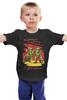 """Детская футболка классическая унисекс """"Поздравляем с 23 февраля! """" - день защитника отечества, солдат, военный"""