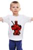 "Детская футболка ""Deadpool "" - deadpool, дедпул"