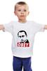 """Детская футболка классическая унисекс """"Путин Obey"""" - путин, putin"""
