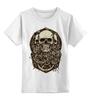 """Детская футболка классическая унисекс """"skulls"""" - skull, череп, черепа"""