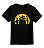 """Детская футболка классическая унисекс """"Симпсоны зомби"""" - zombie, зомби, симпсоны, the simpsons"""