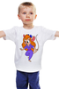 """Детская футболка классическая унисекс """"Гаечка"""" - чип и дейл, гаечка, гайка, чип и дейл спешат на помощь"""