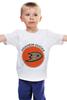 """Детская футболка классическая унисекс """"Anaheim Ducks"""" - спорт, хоккей, nhl, нхл, anaheim ducks"""