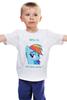 """Детская футболка классическая унисекс """"the best pony"""" - pony, пони, rainbow, dash, best, лучшая, рэйнбоу, дэш"""
