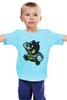 "Детская футболка ""Batman x Mario"" - batman, бэтмен, mario, марио"