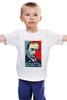 """Детская футболка классическая унисекс """"Путин, Власть"""" - россия, russia, президент, obey, putin"""