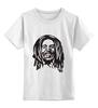 """Детская футболка классическая унисекс """"В стиле РАСТА..."""" - регги, боб марли, раста, bob marley, bob"""