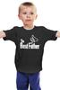 """Детская футболка классическая унисекс """"The Best Father, Лучший отец"""" - папа, отец, godfather, батя"""
