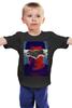 """Детская футболка классическая унисекс """"Batman v Superman"""" - comics, batman, бэтмен, batman v superman, batman vs superman"""