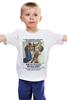 """Детская футболка классическая унисекс """"Por un Punado de Dolares"""" - кино, винтаж, вестерн, клинт иствуд, kinoart"""