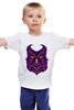 """Детская футболка """"Ночная Сова (Owl)"""" - сова, owl"""