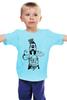 """Детская футболка классическая унисекс """"Goofy Selfy"""" - юмор, смешное, goofy, гуффи, спорт, кубики, cartoon, качалка, пресс, селфи"""