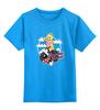 "Детская футболка классическая унисекс ""Princess Peach"" - sexy, pin up, mario, bomb, принцесса пич"