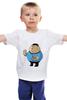 """Детская футболка классическая унисекс """"Fat Spock"""" - спок, обжорство, star track"""