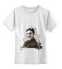 """Детская футболка классическая унисекс """"nikola soyak"""" - арт, тесла, soyak, tesla"""