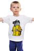 """Детская футболка классическая унисекс """"Breaking Bad x Lego"""" - white, во все тяжкие, meth, гайзенберг, лего"""
