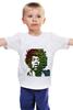 """Детская футболка классическая унисекс """"Хендрикс"""" - знаменитости, хендрикс"""