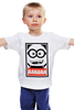 """Детская футболка классическая унисекс """"Миньон (Banana)"""" - banana, obey, миньон, гадкий я, minion"""