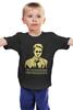 """Детская футболка классическая унисекс """"Бойцовский Клуб (Fight Club)"""" - бойцовский клуб, эдвард нортон, brad pitt, брэд питт, тайлер дерден"""