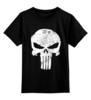 """Детская футболка классическая унисекс """"Каратель"""" - антигерой, каратель, the punisher, фрэнк, фрэнк кастл"""