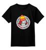 """Детская футболка классическая унисекс """"Shiny Metal"""" - футурама, futurama, робот, мульт"""