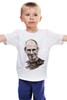 """Детская футболка классическая унисекс """"Стив Джобс """" - steve jobs, стив джобс, основатель apple"""