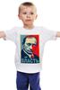 """Детская футболка """"Путин """" - арт, путин, putin, власть, authority"""