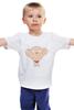 """Детская футболка классическая унисекс """"Стьюи"""" - арт, мультфильм, мульт, стьюи, family guy, гриффины, stewie griffin"""