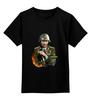 """Детская футболка классическая унисекс """"Путин солдат"""" - путин, putin"""