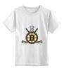 """Детская футболка классическая унисекс """"Бостон Брюинз """" - хоккей, nhl, нхл, бостон брюинз, boston bruins"""