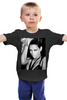 "Детская футболка классическая унисекс ""Rihanna b&w"" - sex, sexy, dg, glamour, rihanna, рианна, black n white, r&b"