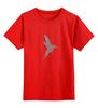"""Детская футболка классическая унисекс """"Vector Bird"""" - bird, street, vector"""
