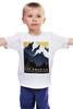 """Детская футболка """"Ретро плакаты"""" - ретро, old, старые афиши, ректро плакат, монтана"""