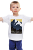 "Детская футболка классическая унисекс ""Ретро плакаты"" - ретро, old, старые афиши, ректро плакат, монтана"