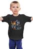 """Детская футболка классическая унисекс """"Crazy Doctor Who"""" - doctor who, tardis, доктор кто, тардис, сумашедший"""