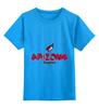"""Детская футболка классическая унисекс """"Аризона Койотис """" - хоккей, nhl, нхл, arizona coyotes, аризона койотис"""