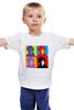 """Детская футболка классическая унисекс """"Шерлок Холмс (Sherlock Holmes)"""" - поп арт, bbc, sherlock, pop art, шерлок холмс, бенедикт камбербэтч"""